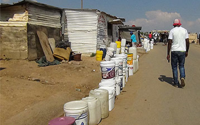 FILE: More suburbs are being affected by water cuts as Rand Water tries to fill its reservoirs, which affects Johannesburg's supply. Picture: EWN.