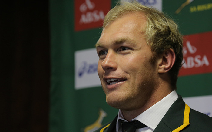 FILE: Springbok coach Heyneke Meyer says Burger has distinguished himself as a leader in South African rugby. Picture: Aletta Gardner/EWN.