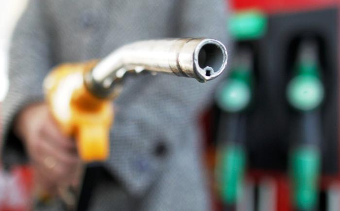 Petrol pump nozzle. Picture: EPA.
