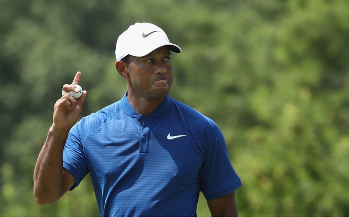 FILE: Tiger Woods. Picture: Twitter @ESPNStatsInfo.