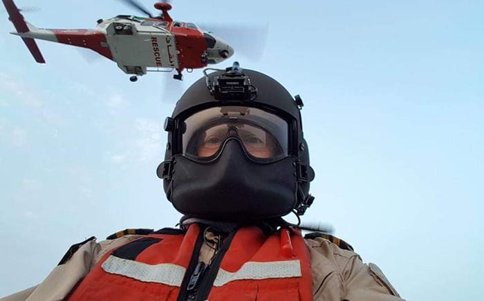 SA paramedic Mark Roxburgh. Picture: @lindylee.roxburgh/Facebook.com