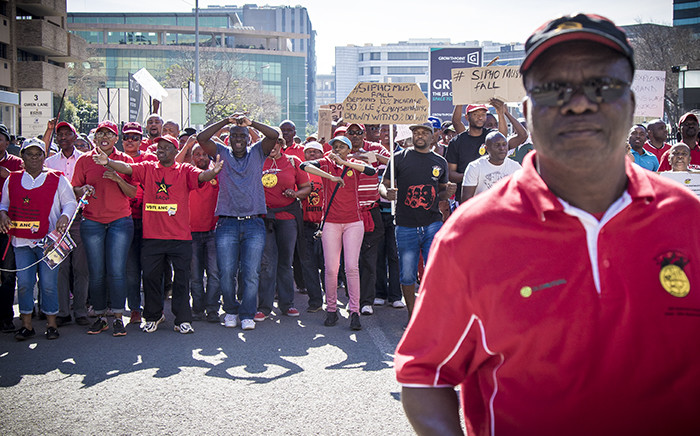 FILE: Communication Workers Union members during a march in Johannesburg. Picture: Thomas Holder/EWN.