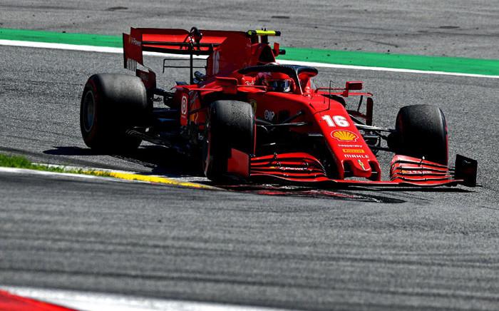 Ferrari's Charles Leclerc during the Austrian Grand Prix on 5 July 2020. Picture: @ScuderiaFerrari/Twitter