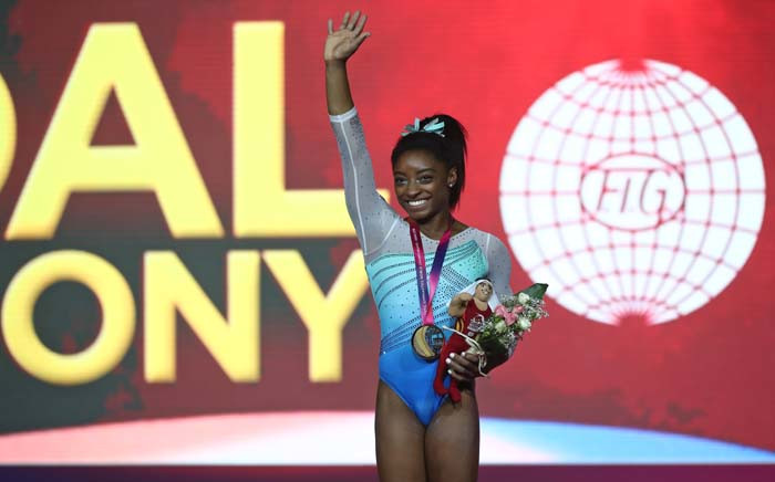 FILE: Simone Biles of the US. Picture: AFP
