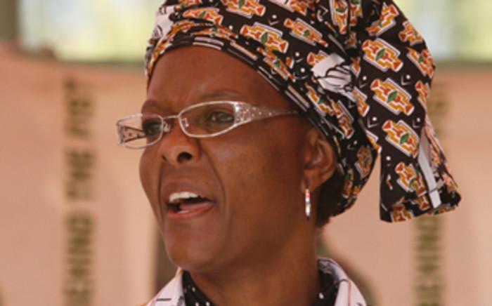 FILE: Zimbabwean first lady Grace Mugabe. Picture: EWN.