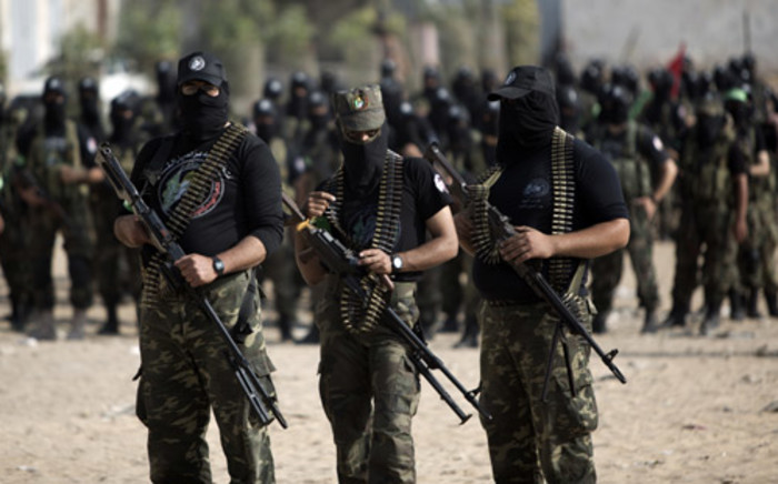 FILE: Hamas said six of its members were killed in air strikes at a resistance location in Rafah. Picture: AFP.