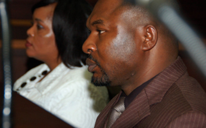 Sheryl Cwele and co-accused Frank Nabolisa. Picture: EWN