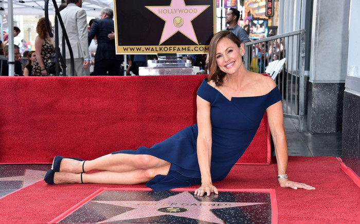 Actress Jennifer Garner attends the ceremony honouring her with the 2,641st star on the Hollywood Walk of Fame on 20 August 2018. Picture: AFP.