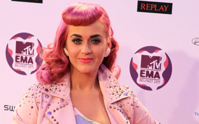 US singer-songwriter Katy Perry. Picture: AFP.