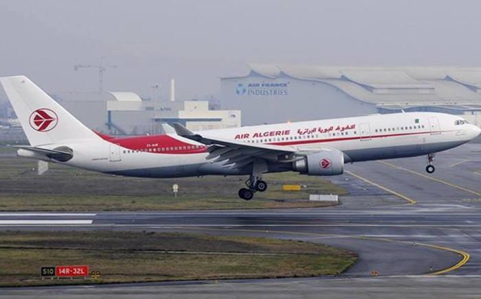 Air Algerie plane. Picture: Facebook.com.