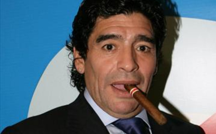 Diego Maradona. Picture: AFP