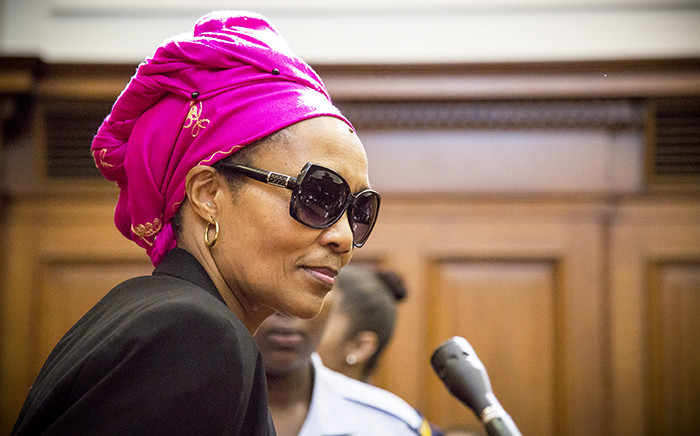 FILE: This undated file photo shows Thandi Maqubela in the High Court dock before her sentencing was carried out. Picture: Thomas Holder/EWN