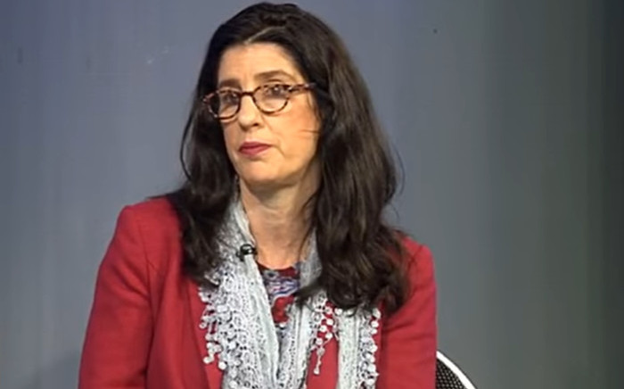 A YouTube screengrab of Nedlac's new executive director Lisa Seftel.