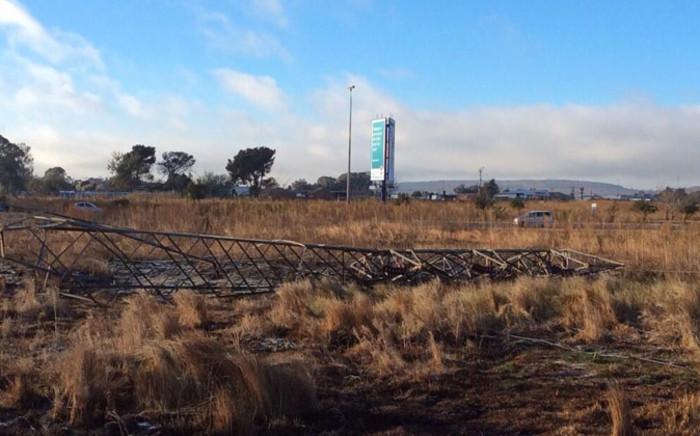 Johannesburg City Power technicians said it will cost an estimated R30 million to repair the pylons. Picture: Faizel Patel @Faizie143.