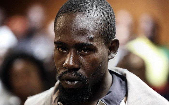 Murder accused Aubrey Manaka appears in court on Tuesday. Picture: Kayleen Morgan/EWN
