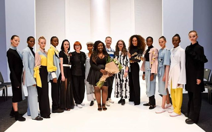 Cindy Mfabe won the 2018 SA FAshion Week talent search. Picture: @cindy_mfabe/Instagram
