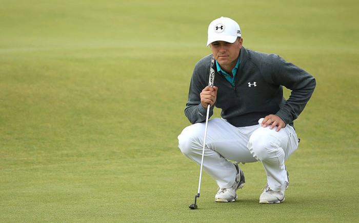 US golfer Jordan Spieth on the putting green. Picture: Jordan Spieth/Facebook.