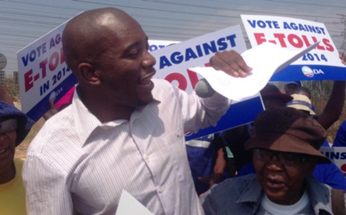 The Democratic Alliance's Premier Candidate for Gauteng Mmusi Maimane. Picture: Sebabatso Mosamo/EWN