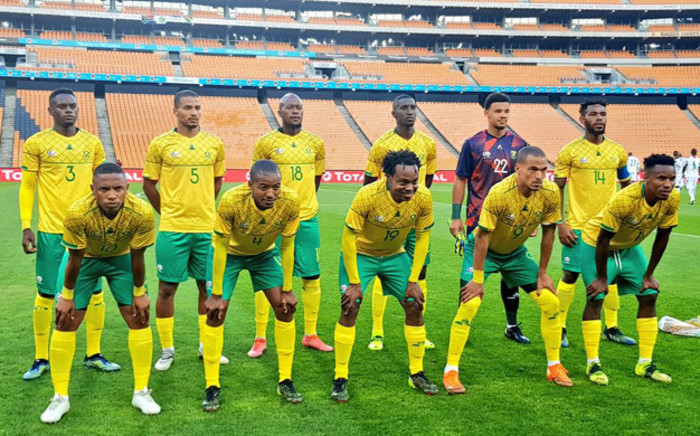 Bafana Bafana secured a point against Ghana in their 2022 Afcon qualifier at the FNB Stadium on 25 March 2021. Picture: @BafanaBafana/Twitter