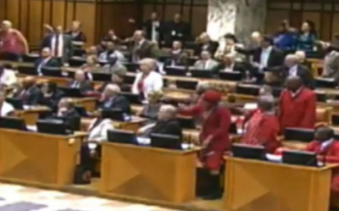 FILE: Opposition Members of Parliament (MP)'s have objected to the report of Parliament's Powers and Privileges Committee on 20 Economic Freedom Fighters (EFF) MPs misconduct. Picture: EWN.
