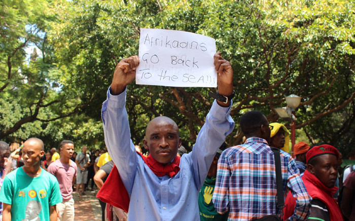 All lectures were cancelled at the Hatfield and Groenkloof campuses  last week following protests. Picture: Christa Eybers/EWN
