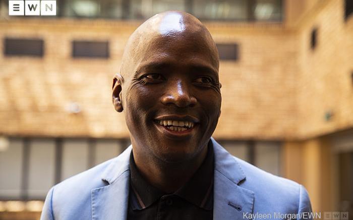 African Content Movement leader Hlaudi Motsoeneng. Picture: Kayleen Morgan/EWN
