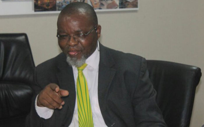 Mineral Resources Minister Gwede Mantashe. Picture: @DMR_SA/Twitter