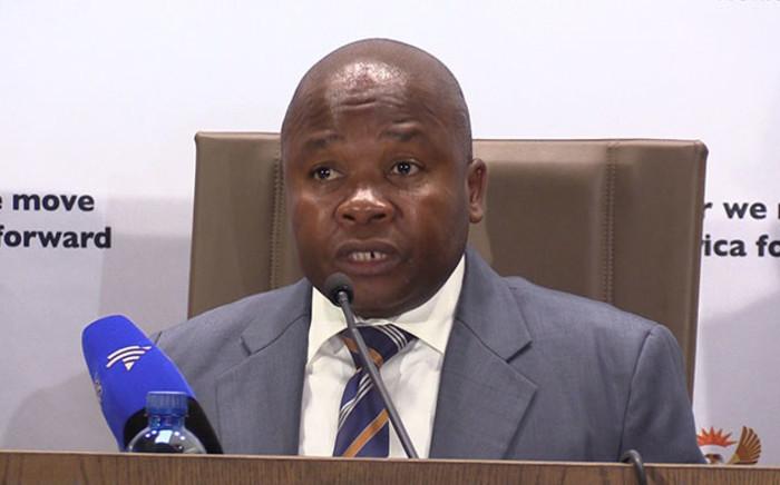 FILE: Cooperative Governance Minister Des Van Rooyen. Picture: Vumani Mkhize/EWN