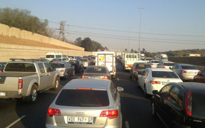 Thousands of motorists are expected on major highways as the festive season ends. Picture: Jacob Moshokoa/EWN.