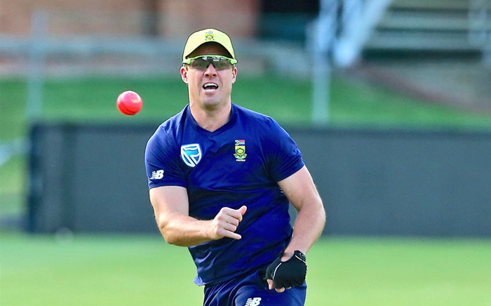 FILE: Former South Africa batsman AB de Villiers. Picture:  @OfficialCSA/Twitter.