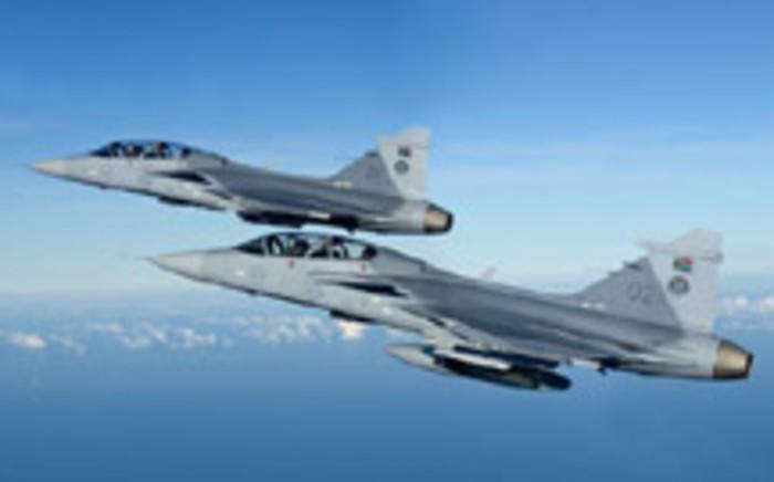 Grippon fighter jets formed part of the Arms Deal. Picture: www.af.mil.za