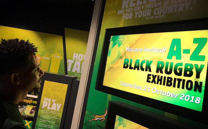 The Springbok Experience Rugby Museum exhibits the A-Z of Black Rugby. Picture: Springbok Rugby Museum/Facebook.com.