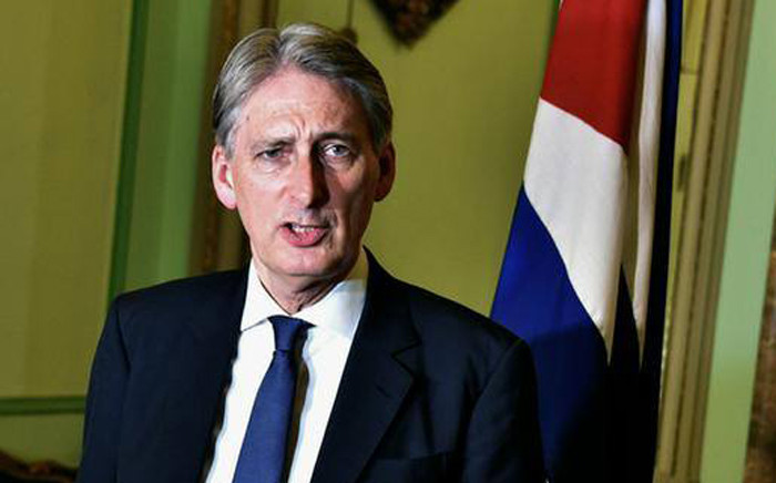 Britain's new Chancellor, Philip Hammond. Picture: AFP.