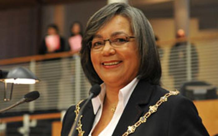 FILE: Cape Town Mayor Patricia de Lille. Picture: www.capetown.gov.za