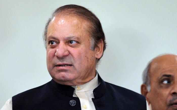 FILE: Former Pakistan Prime Minister Nawaz Sharif. Picture: AFP