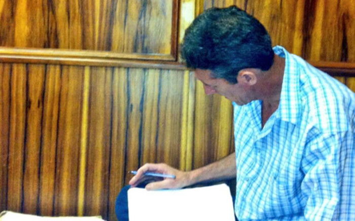 FILE: Johannes de Jager has denied murdering 16 year-old Charmaine Mare but has admitted to dismembering her in Kraaifontein in 2013. Picture: Graeme Raubenheimer/EWN.
