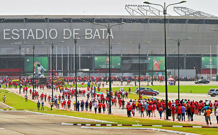 FILE: Hundreds of fans descend on the Estadio De Bata in Equatorial Guinea for the opening ceremony of Afcon 2015. Picture: cafonline.com