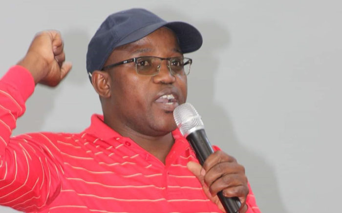 The SACP's Siyabulela Siswana was shot and killed at his Mfuleni home, along with his six-year-old daughter. Picture: Supplied