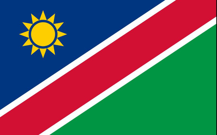 The Namibian flag. Picture: Supplied.