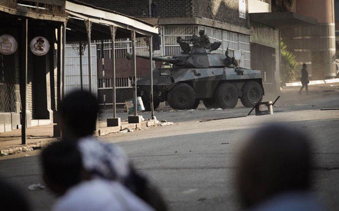FILE: Violent protests broke out in Zimbabwe. Picture: Thomas Holder/EWN