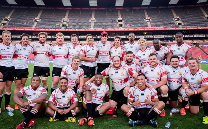 FILE: The Golden Lions Rugby team. Picture: Lions Rugby Union – Willem/Facebook.
