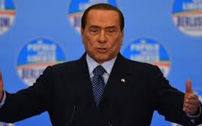 Former Italy Prime Minister Silvio Berlusconi. Picture: AFP.
