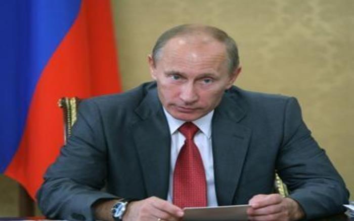 Russian president Vladimir Putin. Picture: AFP