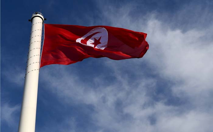 The Tunisian flag. Picture: AFP