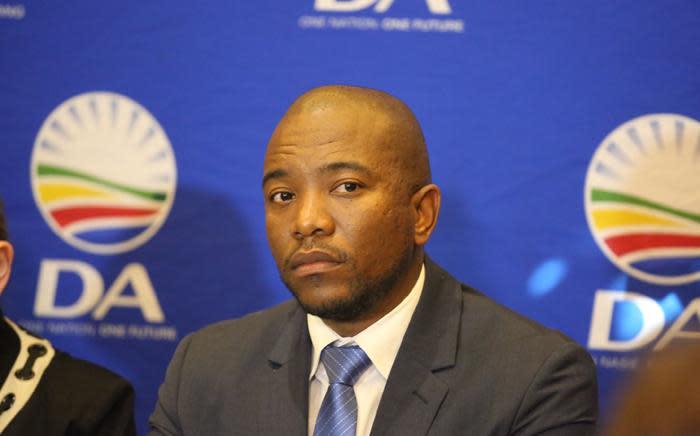 Democratic Alliance leader Mmusi Maimane. Picture: Christa Eybers/EWN