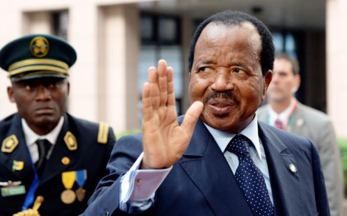 FILE: Cameroon's octogenarian President Paul Biya. Picture: AFP.