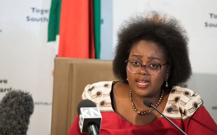 FILE: Minister of Communications Mmamoloko Kubayi-Ngubane. Picture: GCIS