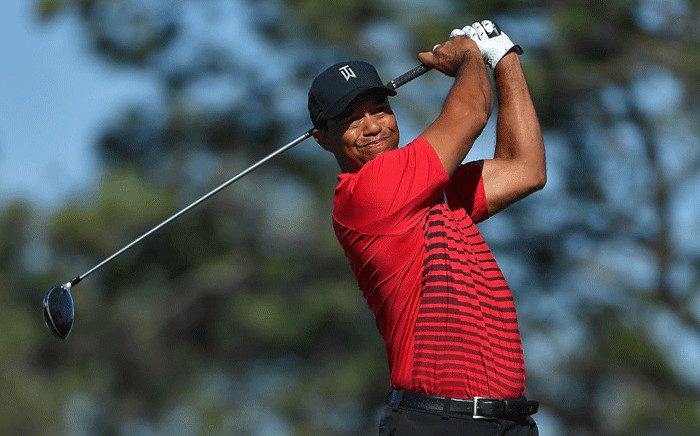 FILE: Tiger Woods back in action. Picture: AFP
