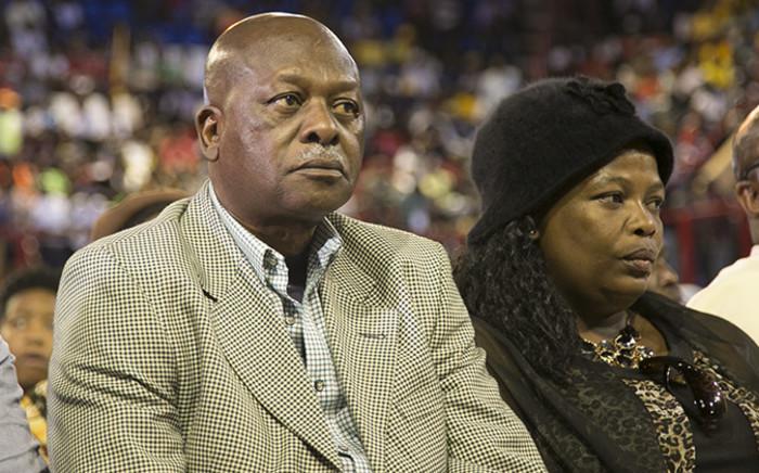 FILE: Father of slain Bafana Bafana captain Senzo Meyiwa, Sam Meyiwa, at Johannesburg's Standard Bank arena on 30 October 2014.Picture: Reinart Toerien/EWN.