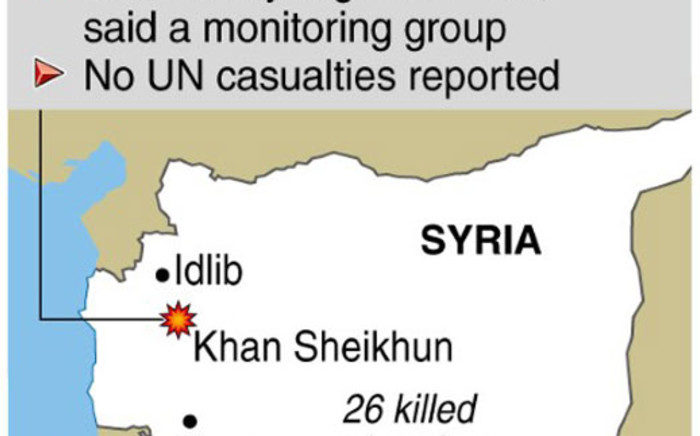 Conflict in Syria. More than 12,000 people have died in 15 months of fighting. Graphic: SAPA